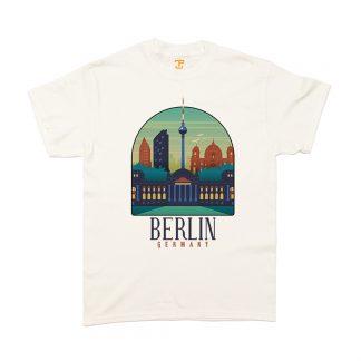 Berlin Shirt Herren T-Shirt Berlin City Shirt Berlin-Shirt City-Shirt